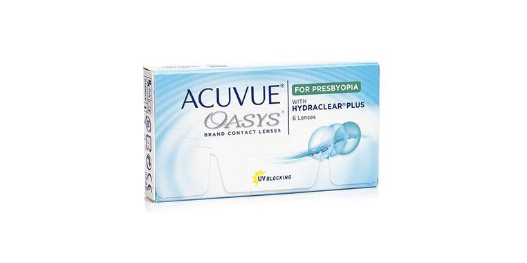 Lentilles de contact Acuvue® Oasys® for Presbyopia
