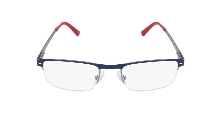 Óculos graduados homem DAN BL (TCHIN-TCHIN +1€) azul/cinzento - Vista de frente