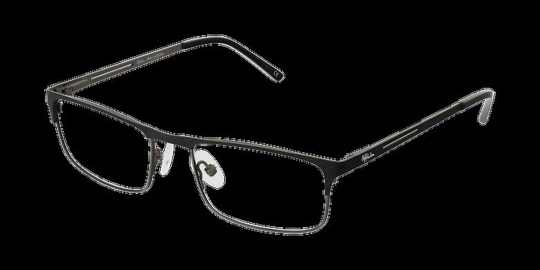 Óculos graduados homem LILOUAN BK (TCHIN-TCHIN +1€) preto/cinzento