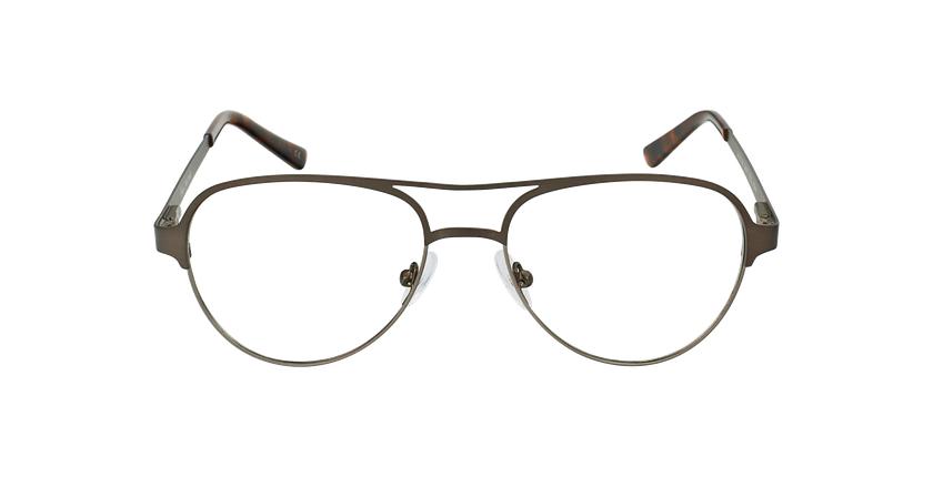 Gafas graduadas NAEL gris/plateado - vista de frente