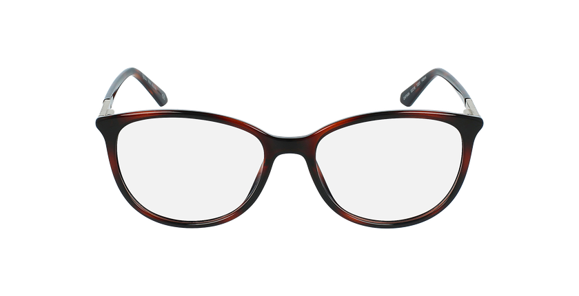 Óculos graduados senhora ALEXA TO (TCHIN-TCHIN +1€) tartaruga  - Vista de frente