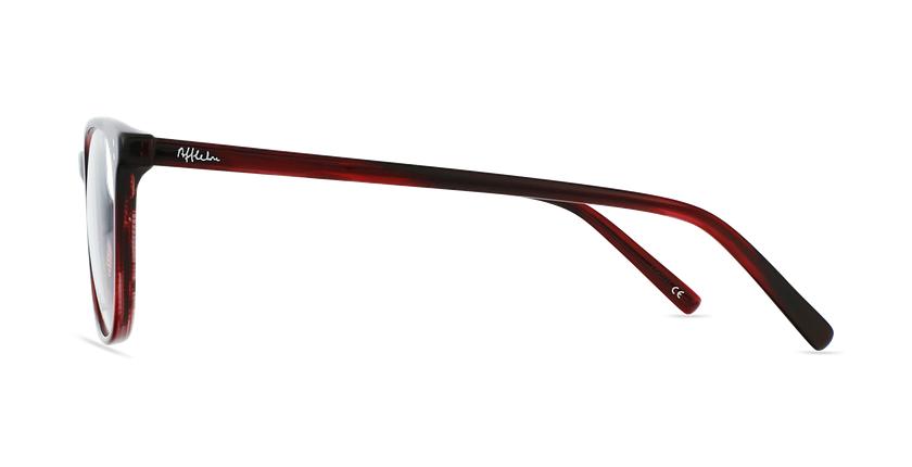 Óculos graduados homem MAXENCE RD (TCHIN-TCHIN +1€) vermelho - Vista lateral