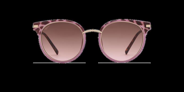 Lunettes de soleil femme BARCELO écaille/violet