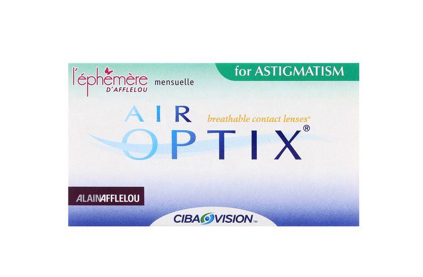 Lentilles de contact Air Optix for Astigmatism 6L - vue de face