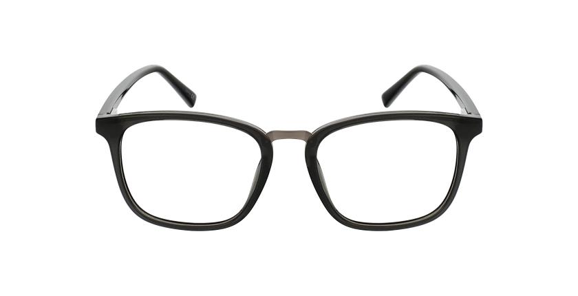 Lunettes de vue homme PAULO gris/gris - Vue de face