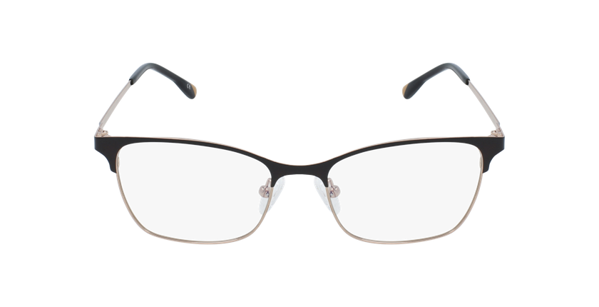 Óculos graduados senhora MAGIC 55 BLUEBLOCK - BLOQUEIO LUZ AZUL preto/dourado - Vista de frente