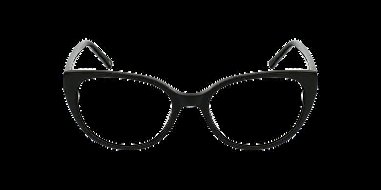 Óculos graduados senhora BERTILLE BK (TCHIN-TCHIN +1€) pretoVista de frente