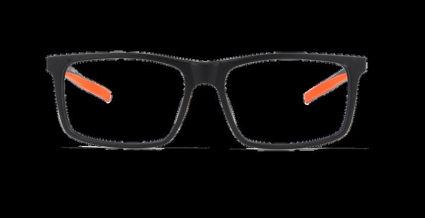 Gafas graduadas hombre FERNANDO negro - vista de frente