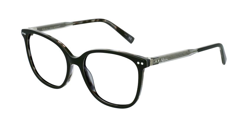 Óculos graduados senhora MOZART BK preto - vue de 3/4