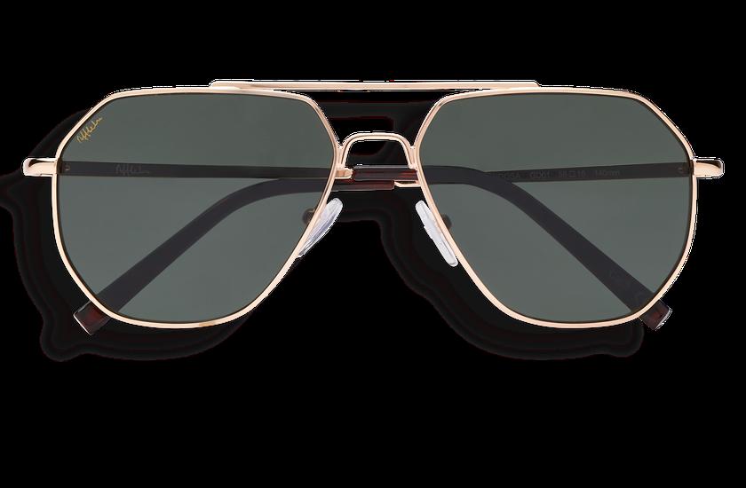 Gafas de sol hombre MENDOSA dorado - danio.store.product.image_view_face