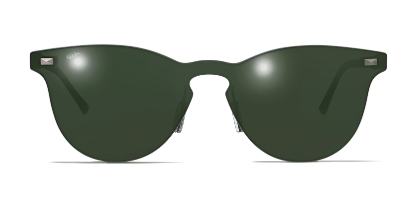 Gafas de sol mujer COSMOS2 verde - vista de frente