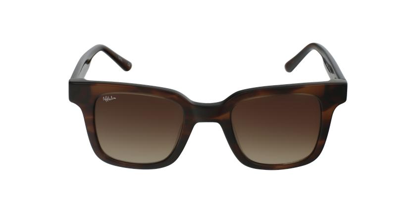 Óculos de sol senhora KAREN TO tartaruga  - Vista de frente