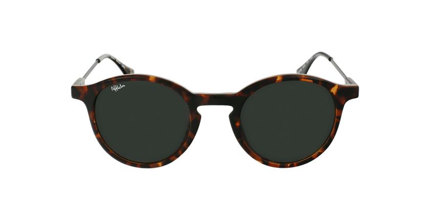 Óculos de sol senhora LILA TO tartaruga /preto - Vista de frente