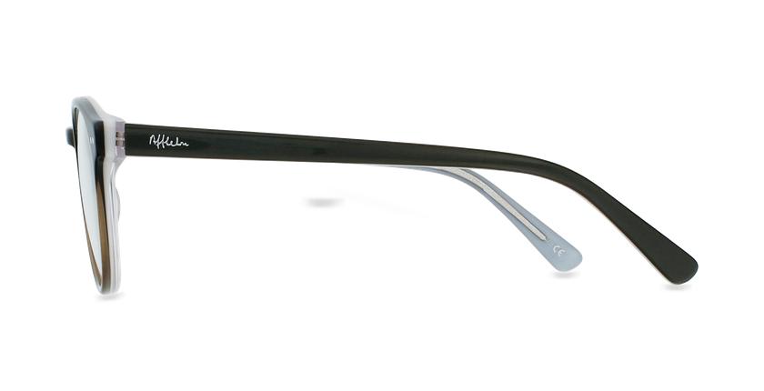 Óculos graduados criança LIV BK (TCHIN-TCHIN +1€) preto/cinzento - Vista lateral