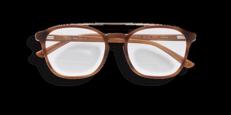 Óculos graduados homem CLOVIS BK (TCHIN-TCHIN +1€) preto