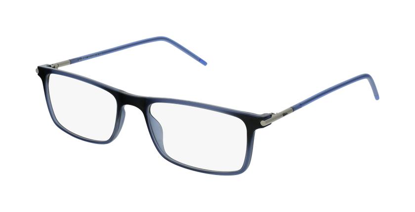 Óculos graduados homem MAGIC 72 BL azul - vue de 3/4
