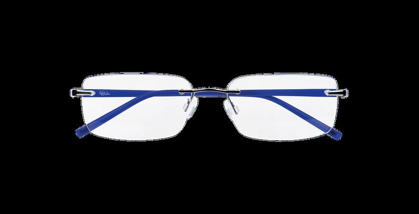 Gafas graduadas hombre LIGHT TONIC plateado/azul - vista de frente