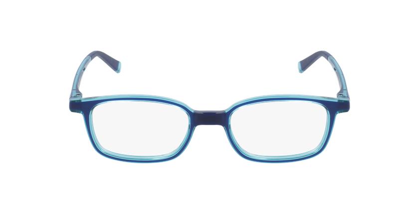 Lunettes de vue enfant RFOP1 bleu/turquoise - Vue de face