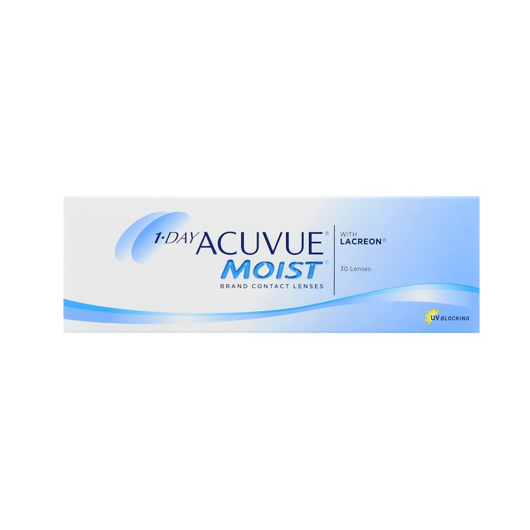 Lentilles de contact 1 Day Acuvue® Moist® 30L