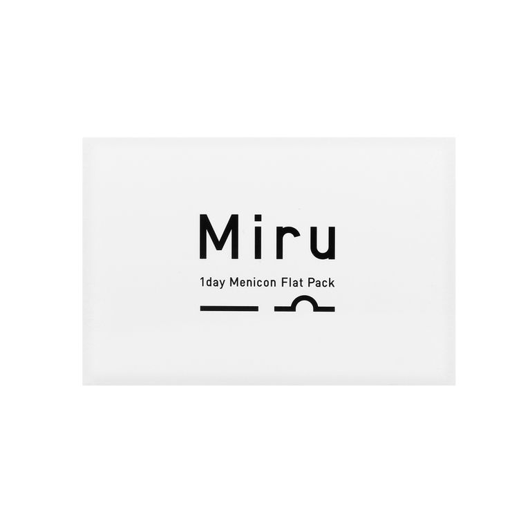Lentilles de contact Miru 1day Menicon Flat Pack - 3*30