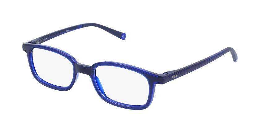 Lunettes de vue enfant RFOP1 noir/bleu - vue de 3/4