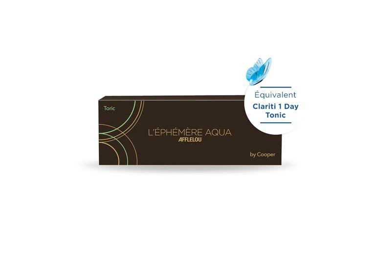 Lentilles de contact Ephémère Aqua Journalière Toric 30L