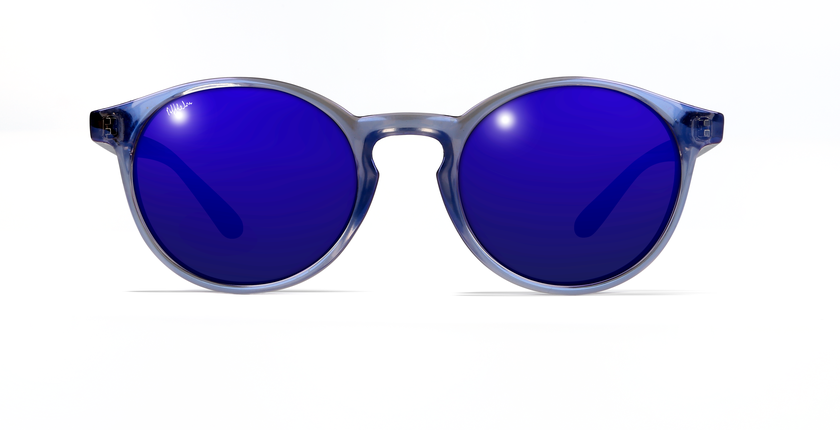 Gafas de sol mujer OLIVER morado - vue de face
