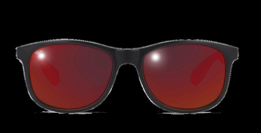 Gafas de sol hombre TAYLOR POLARIZED negro - vista de frente
