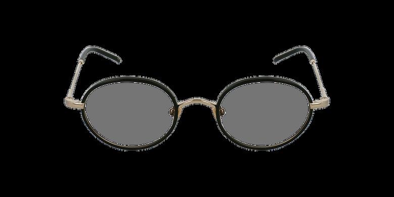 Óculos graduados PUCCINI BK dourado/preto