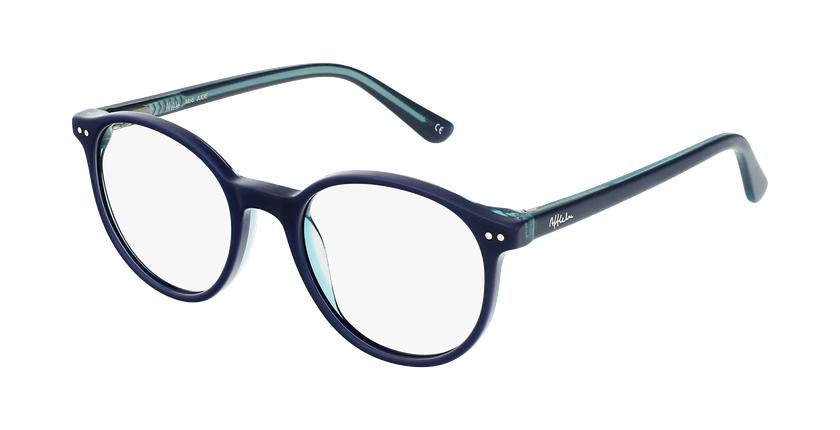 Óculos graduados criança JUDE BL (TCHIN-TCHIN +1€) azul/turquesa - vue de 3/4