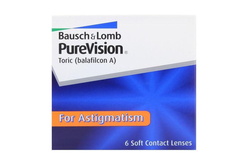 Lentilles de contact PureVision Toric 6L - danio.store.product.image_view_face