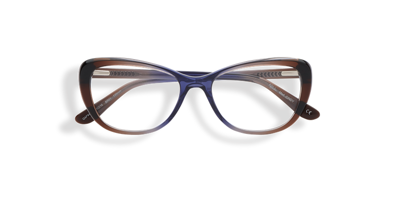 Óculos graduados senhora CINDY (Tchin-Tchin +1€) castanho/violeta