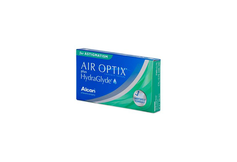 Lentilles de contact Air Optix Plus Hydraglyde For Astigmatism 6L