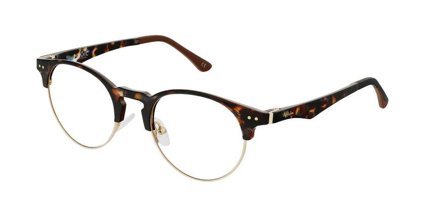 Óculos graduados MAGIC 93 TO ECO FRIENDLY tartaruga/dourado - vue de 3/4
