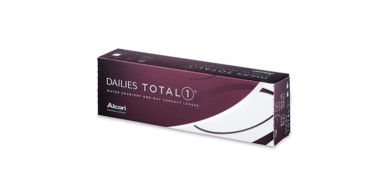 Lentilles de contact Dailies Total 1 30L