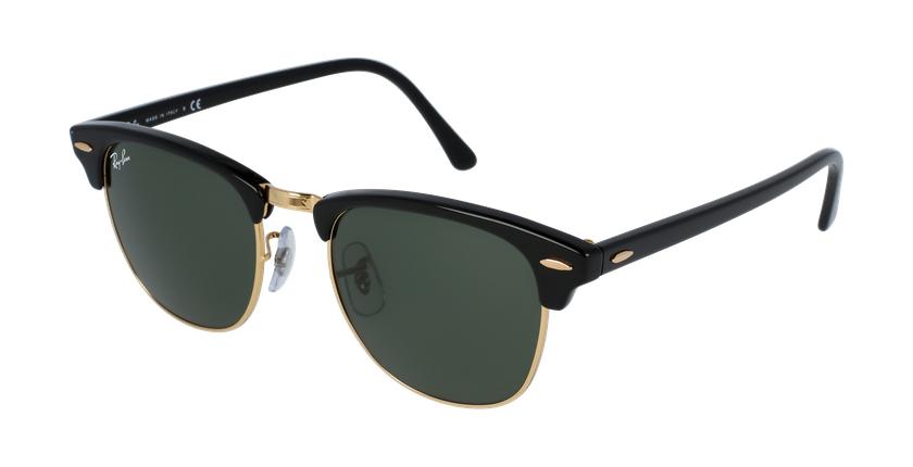 Gafas de sol CLUBMASTER negro/negro - vue de 3/4