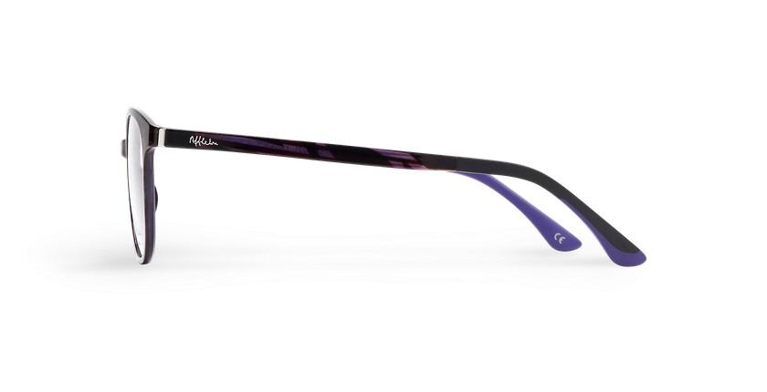 Óculos graduados senhora MAGIC 09 violeta/violeta escuro - Vista lateral