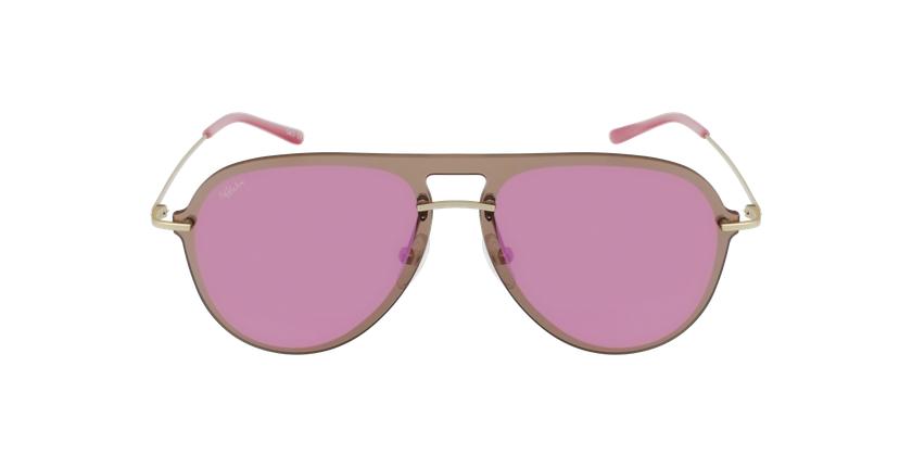 Óculos de sol WAIMEA GD dourado/rosa - Vista de frente