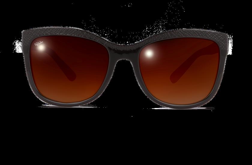 Gafas de sol mujer ELVIRA marrón - danio.store.product.image_view_face