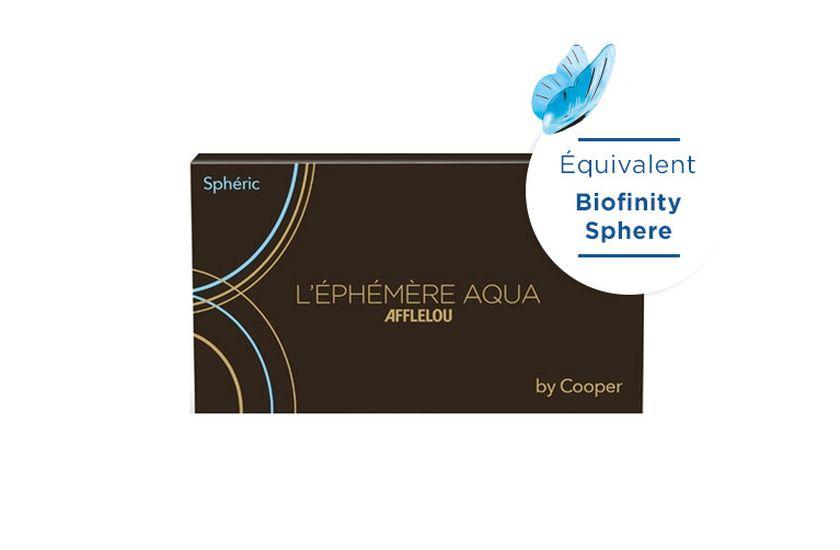Lentilles de contact Ephémère Aqua Mensuelle Sphere 6L - danio.store.product.image_view_face