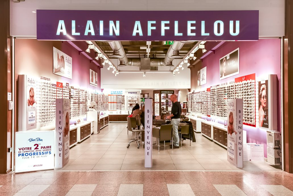 opticien afflelou bordeaux c c auchan bordeaux le lac 33300. Black Bedroom Furniture Sets. Home Design Ideas