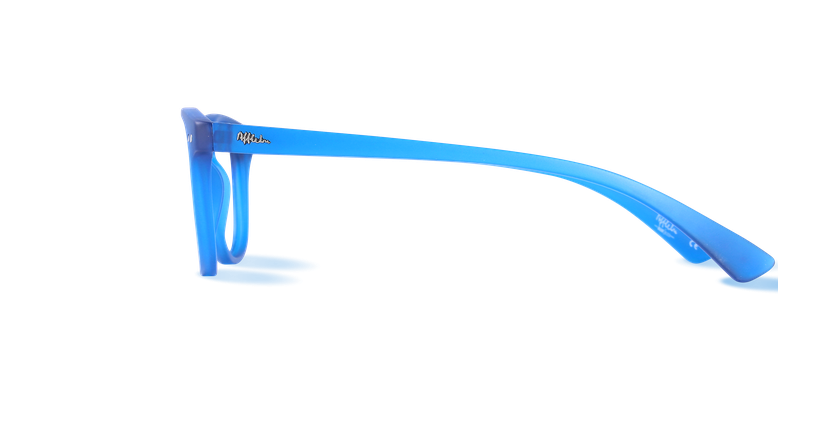 Óculos graduados BLUEBLOCK MIX (H/M) azul - Vista lateral