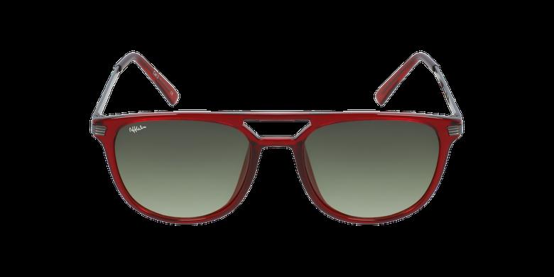 Óculos de sol homem NIERES RD vermelho/cinzento