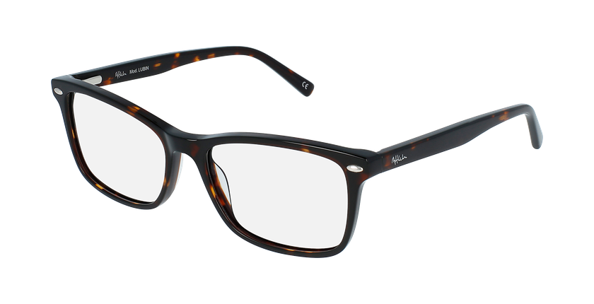 Óculos graduados homem Lubin TO (TCHIN-TCHIN +1€) tartaruga  - vue de 3/4