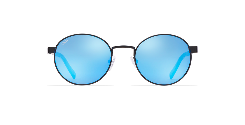 965c18e1346cb ... Óculos de sol senhora TUTTI preto - Vista de frente ...