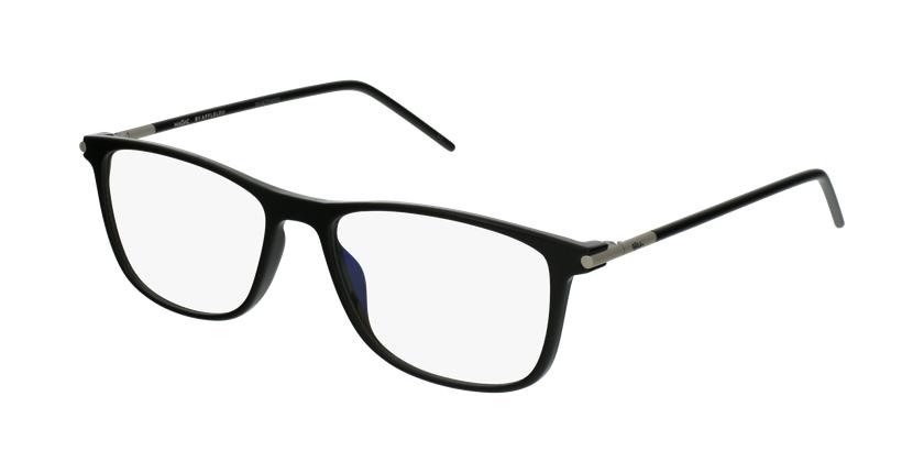 Lunettes de vue homme TMF73 noir - vue de 3/4