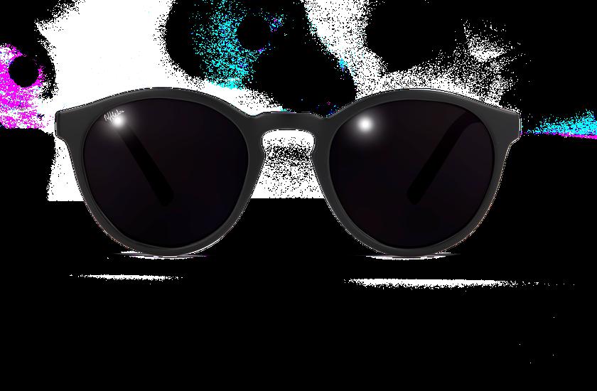 Lunettes de soleil femme RAINBOW noir - vue de face