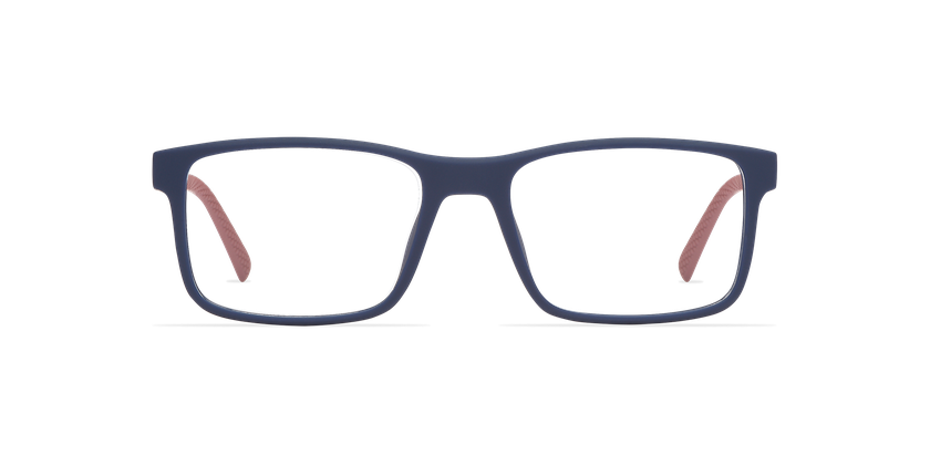 Gafas graduadas hombre ACE azul/rojo - vista de frente