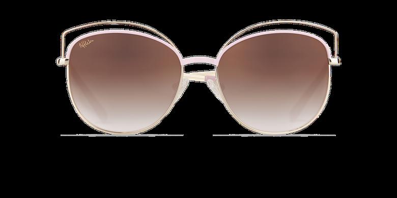 Óculos de sol senhora BETTY rosa/dourado