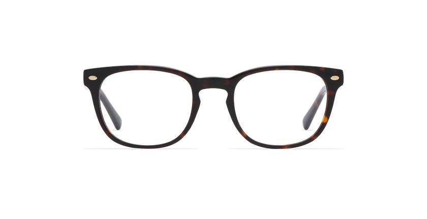 Óculos graduados homem LUCAS (Tchin-Tchin +1€) tartaruga  - Vista de frente